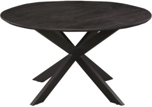 eetkamertafel-rond-140-colombia-noir-collection